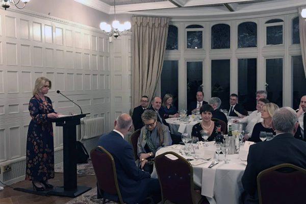 Annual Justice Dinner held at Bletchley Park