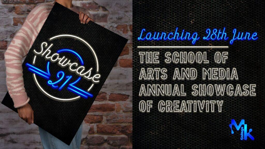 Summer showcase graphic